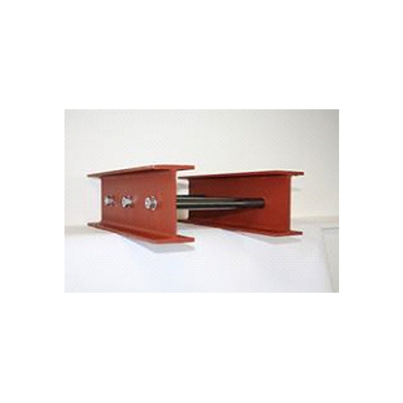152 x 89 x 16 UB Twined Beam  Prefabricated with Spacer Tubes for 300mm Cavity Wall